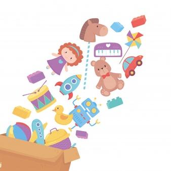 giochi per bambini per horeca, ristoranti, hotel, pizzerie, attività varie kit scatola party completo