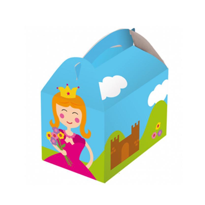 Scatola party regalo bambini con giochi divertenti per hotel ristoranti strutture ludoteche sale horeca alberghi asili scuole aziende feste